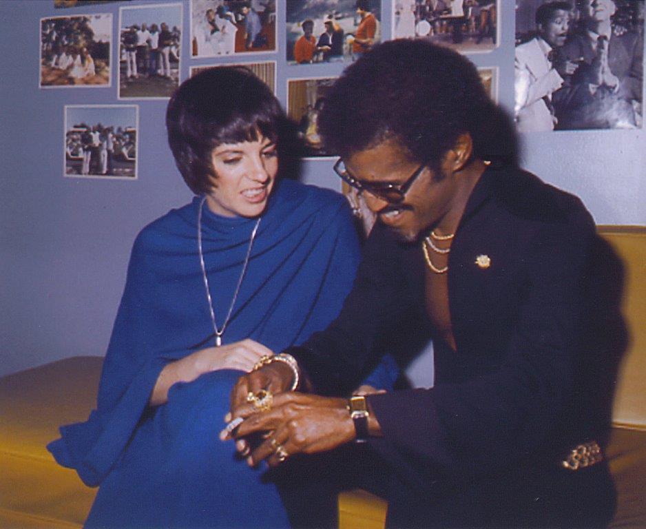 Liza Minnelli, Sammy Davis Jr.