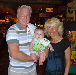 Renee and I and Liam in Dallas