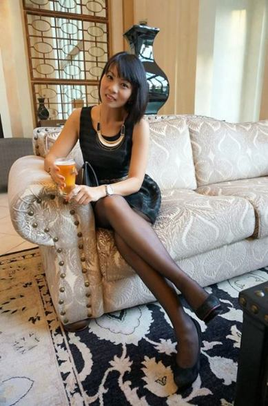 My partner in crime for the night - Shen Yee from Tattler magazine