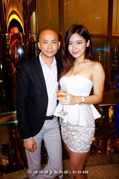 Andy Kho and Hanli Bubu