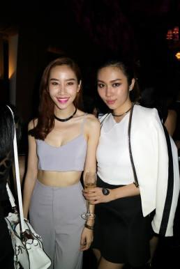 Beautiful models Evelyn Marieta and L'oreal Mok