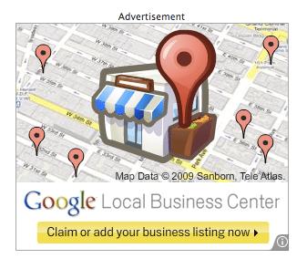 Google Local Business Ads