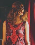 Ondine - Dec 2015 Designer: Linda Blissett, Photographer: Tim Copsey, Models: Amy Holdstock, MUA & Hair : Cleo Young, Assistant: Astra Jamieson, Location: Ye Olde Mitre Inn, London.