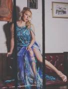 Ondine - Dec 2015 - Designer: Linda Blissett, Photographer: Tim Copsey, Model:Oliwia Miskiewicz, MUA & Hair : Cleo Young, Assistant: Astra Jamieson, Location: Ye Olde Mitre Inn, London.