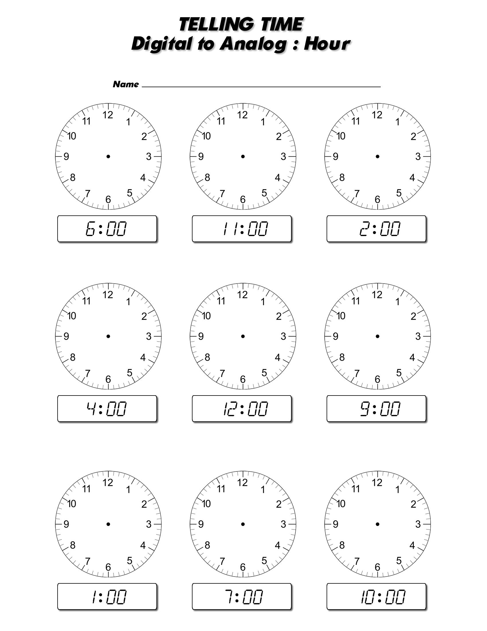 Index Of Worksheets