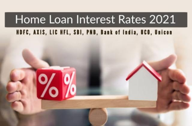 Home Loan Interest Rates all Banks 2021 Home Loan Interest Rate Bank Loan Emi Interest Rate 2021