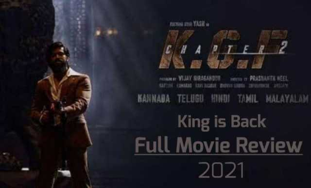 KGF 2 Full Movie Download Review - Filmyzilla, Tamilrockers KGF Chapter 2 Full Movie in Hindi