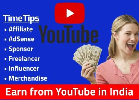 Process to Earn From YouTube in India
