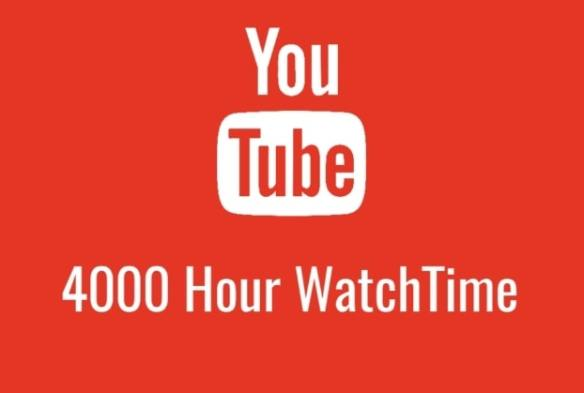 Complete 4000 hours watch time in YouTube easily