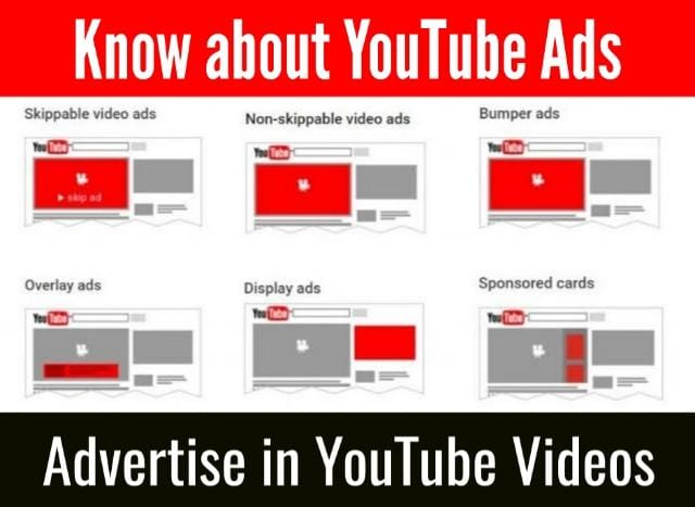 Advertise in YouTube Videos
