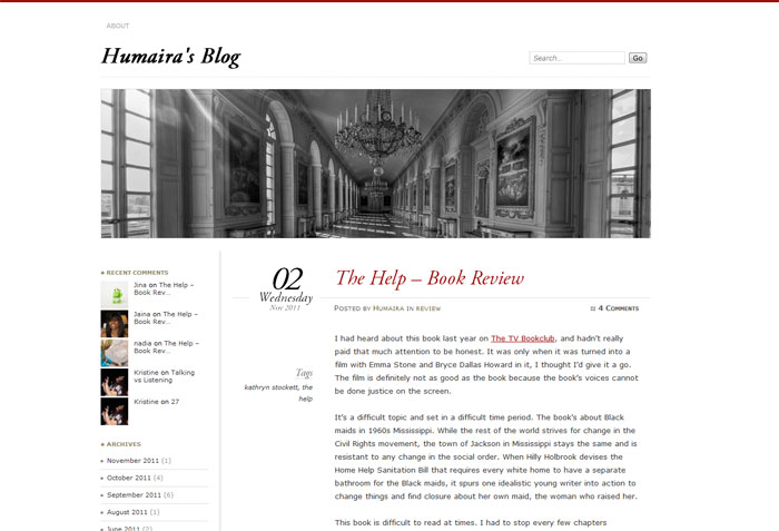 Humaira's Blog