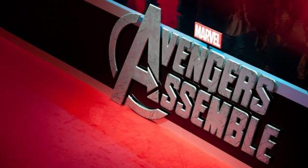 The Avengers Assemble European Premiere