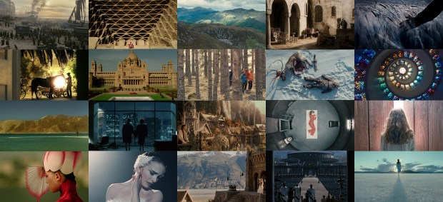 A collection of beautiful films