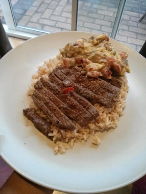 Delicious beef