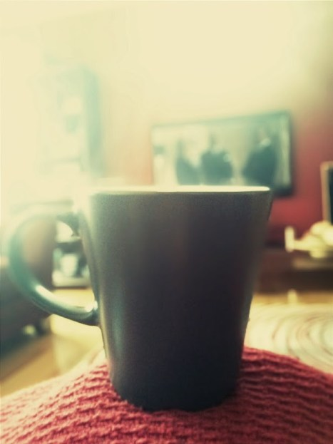 Day 106 A cup of chai and House of Cards. Nice.
