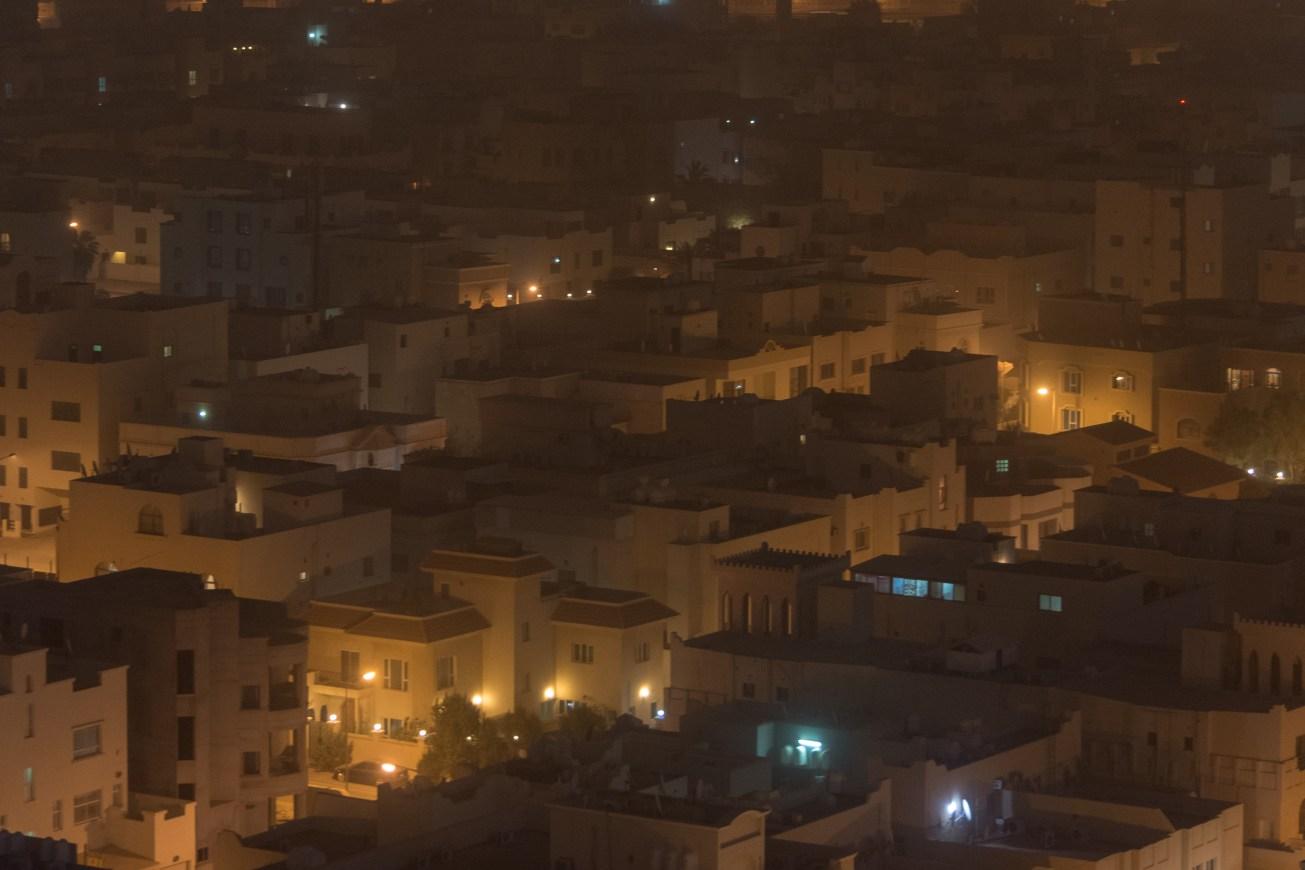 Bahrain through the dust