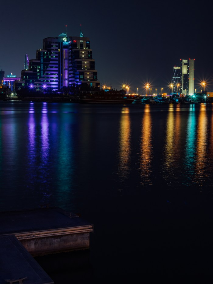 Bahrain at night
