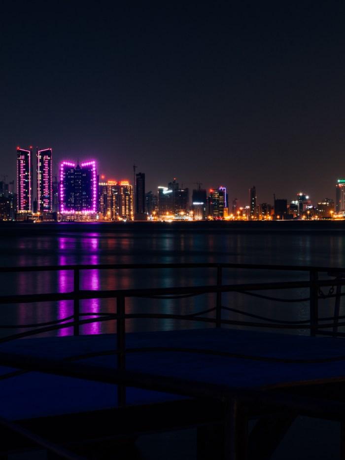 Bahrain, she glows