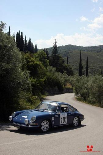101 historic rally of greece regularity