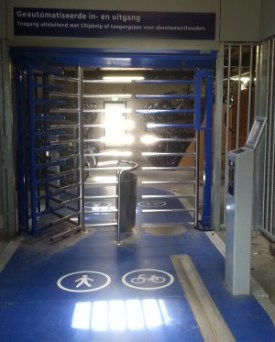 bike cycle turnstile turnstyle