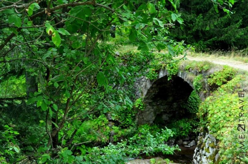 Римски мост, екопътека Каньонът на водопадите