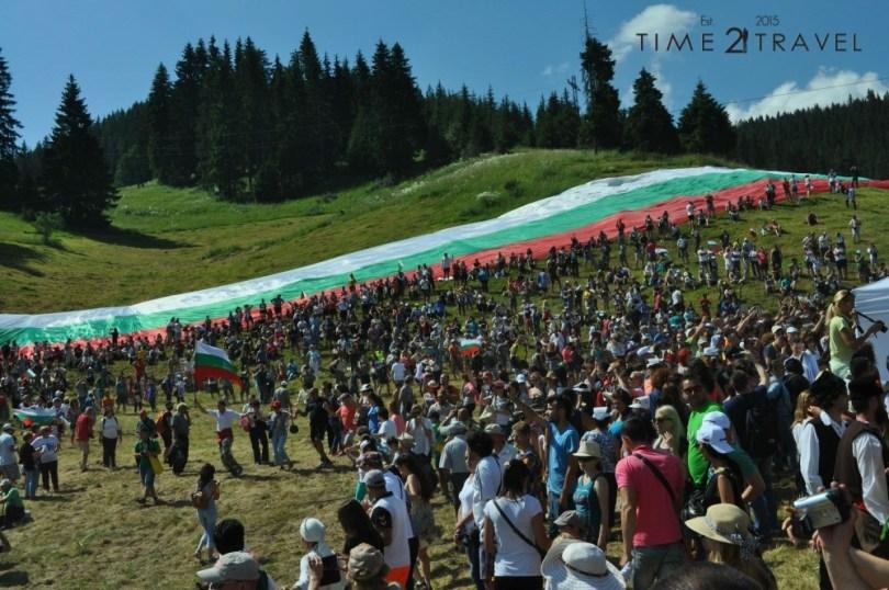 Български трибагреник, Роженски събор 2015