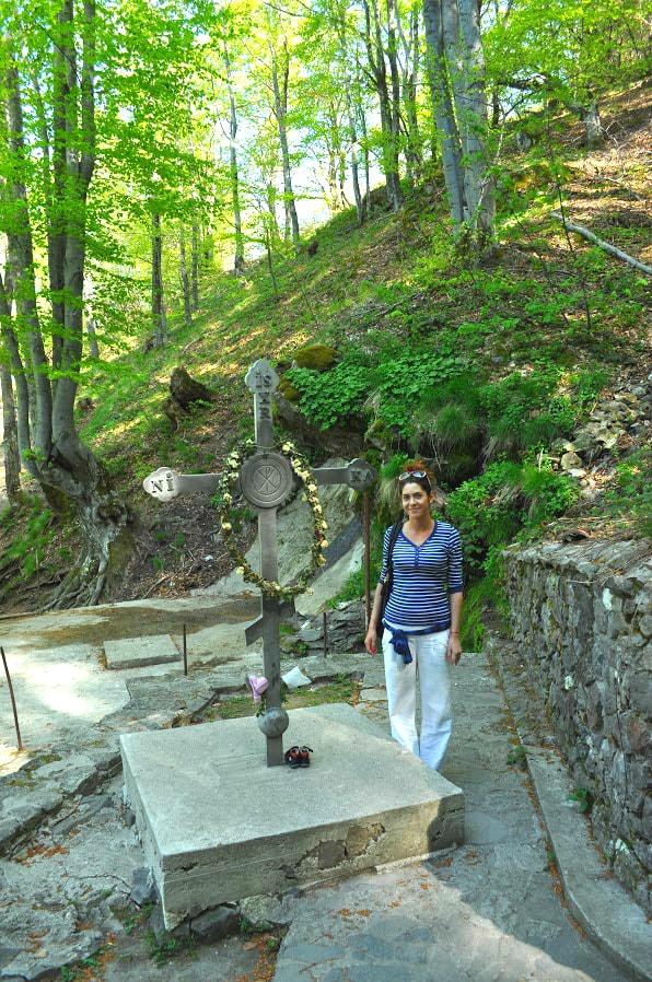 Вторият метален кръст на Кръстова гора