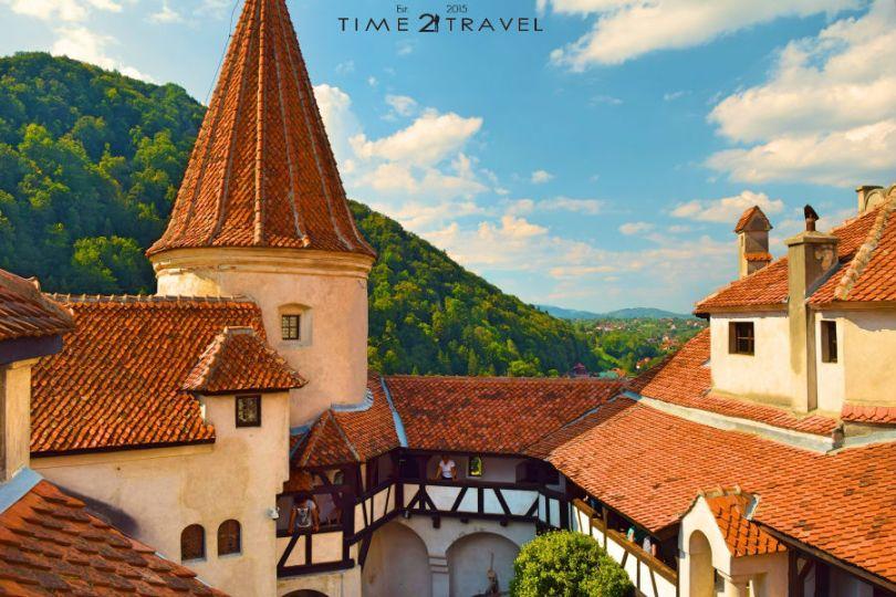 Замъкът в Бран