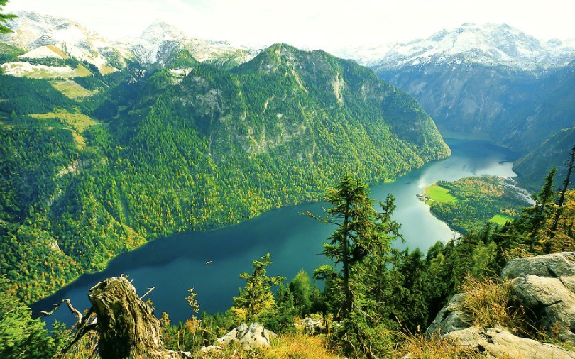 Езерото Кьонигзее и Берхтесгаден