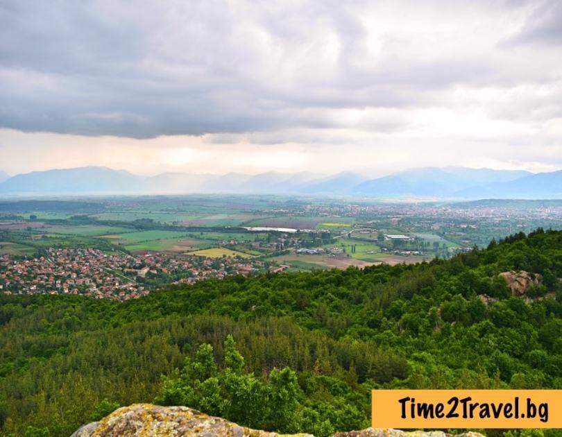 Мегалитът Бузовград - гледка