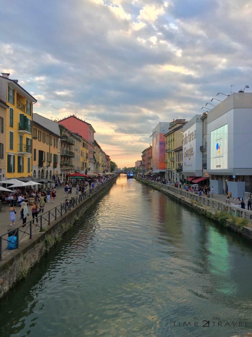 Навили, Милано