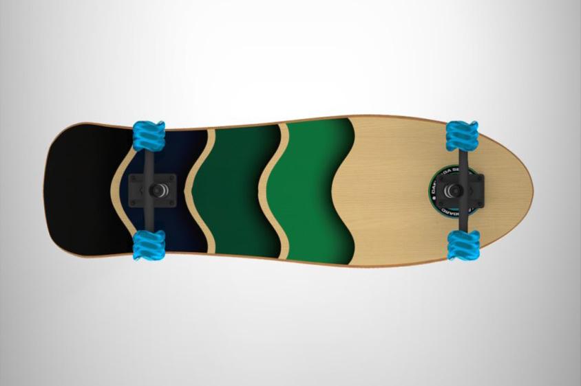 Ocean Wave - Shark Wheel Cruiser Skateboard3 time4gadget