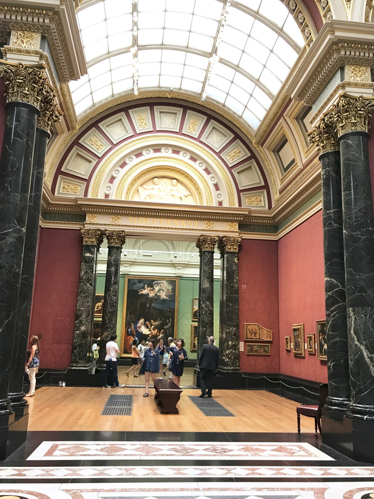 National gallery, Interior Design, architecture