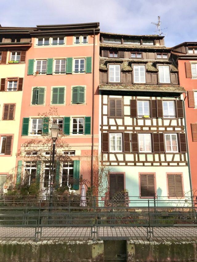 la petite france beautiful buildings