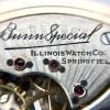 21 Jewel Illinois Bunn Special Pocket Watch Illinois Watch Co. Springfield