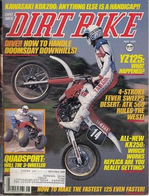 DIRT BIKE Magazine May 1985 - Time Capsule Magazines