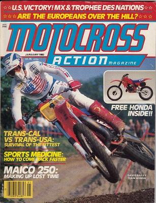 Motocross Action 1983