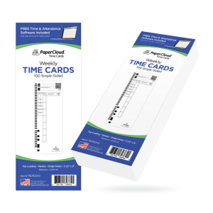 acroprint time card, office time machine