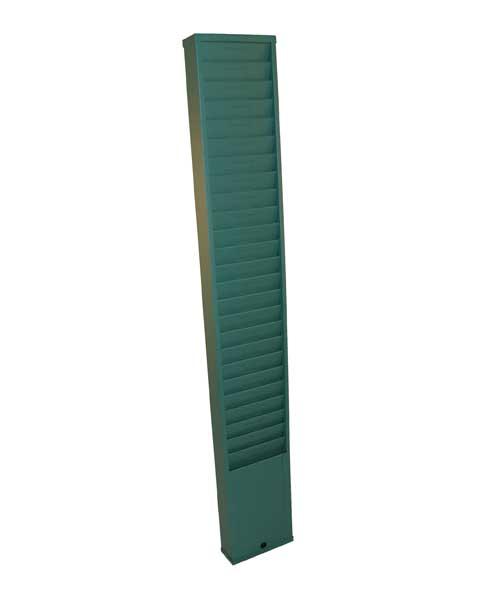 Time Card Rack: 25 Pocket, Style 175