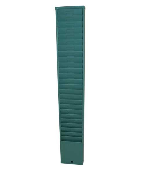 Time Card Rack: 25 Pocket, Style 176
