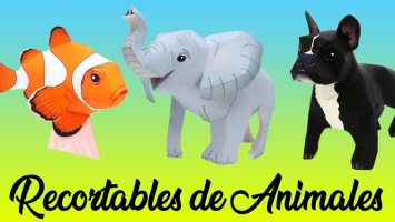 Recortables animales by canon Creative park