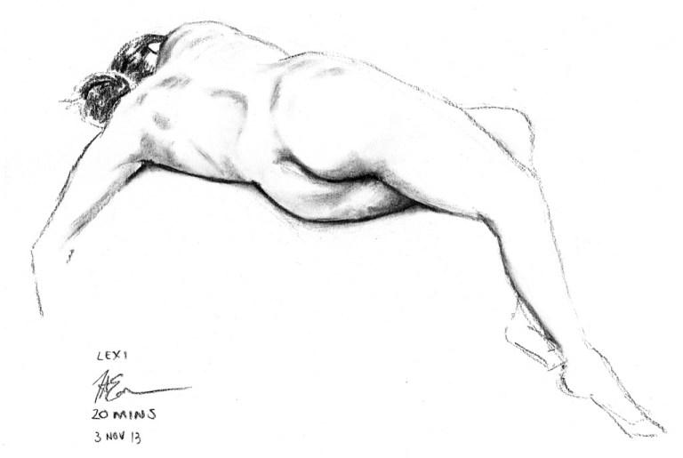 Life Drawing Marathon – Nov 2013