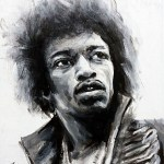 Jimi Hendrix Value Study