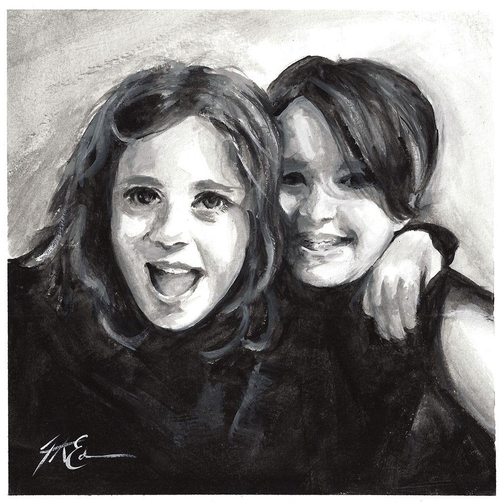 Myla and Tilda