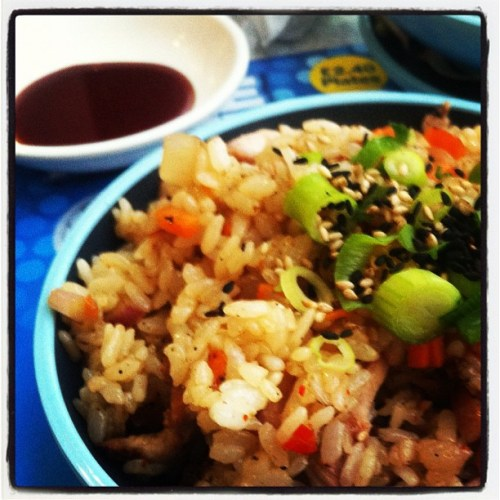 Chicken Firecracker Rice