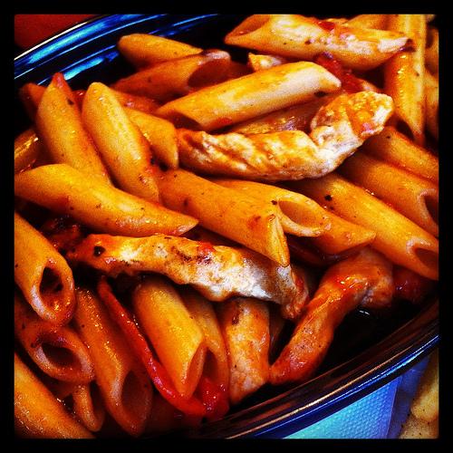 Chicken Penne Romana