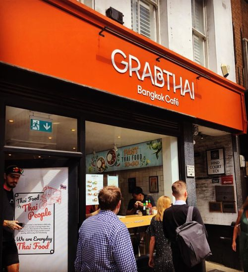 Grabthai on Fleet Street