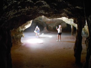 Cave photo session