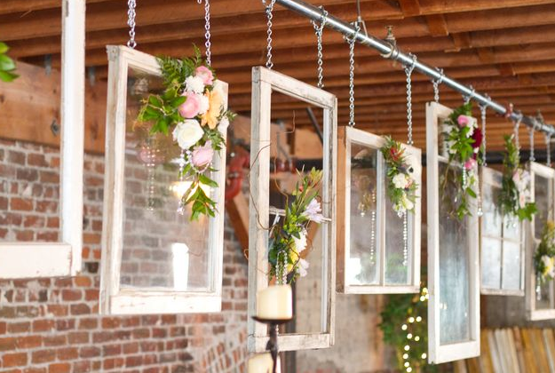 Beautiful Decorating Idea For A Shabby Chic Wedding By