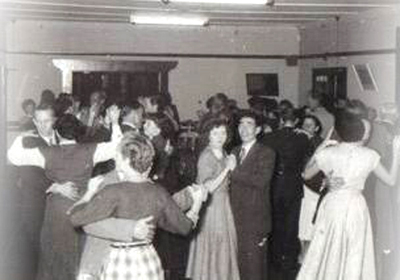 Headlands Hotel dancing 1950s